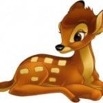 Bambi fra disney-clipart.com