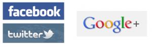 Sociale medier, Facebook, Twitter og Google+ - hvad f..... er det?