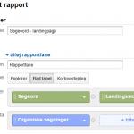 Brugerdefineret rapport i Google Analytics